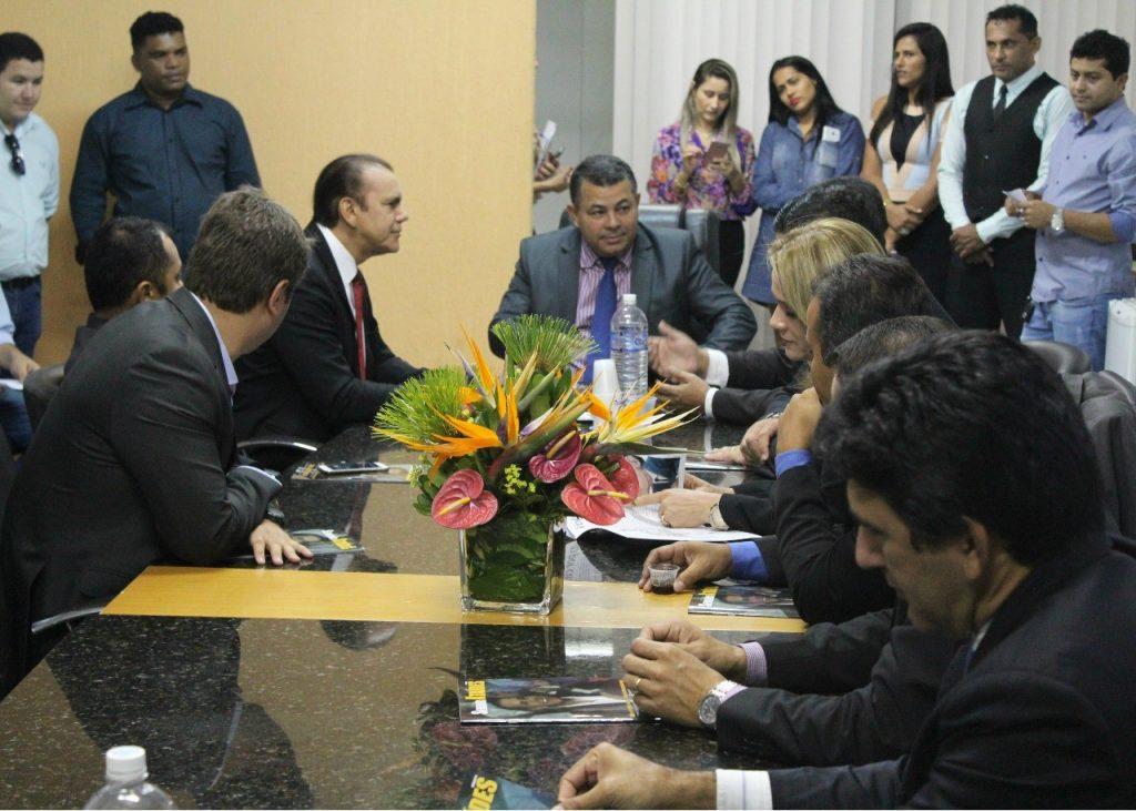 Ataídes visita vereadores de Palmas e defende projetos estruturantes para alavancar o desenvolvimento do Tocantins
