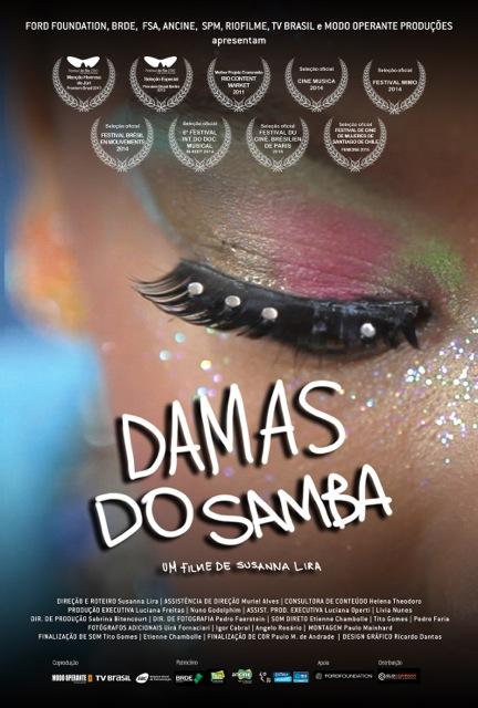 Cineclube exibirá o filme Damas do Samba neste sábado