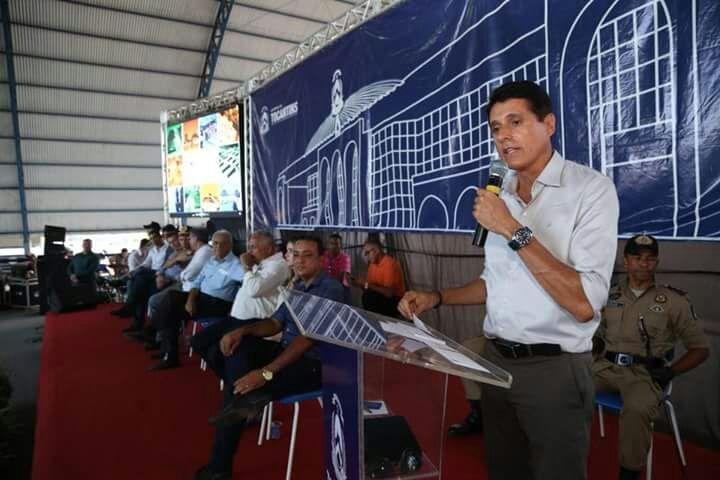 """""""O sentimento é de dever cumprido"""", afirma deputado Nilton Franco no lançamento do Colégio da Polícia Militar em Paraíso"""