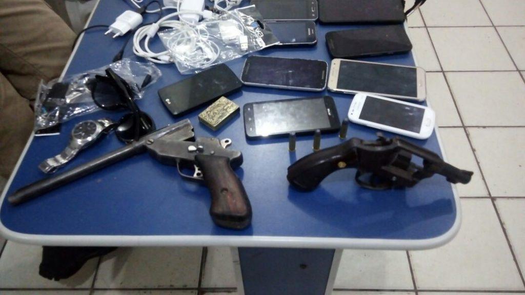 Polícia Militar prende assaltantes e traficantes em Xambioá