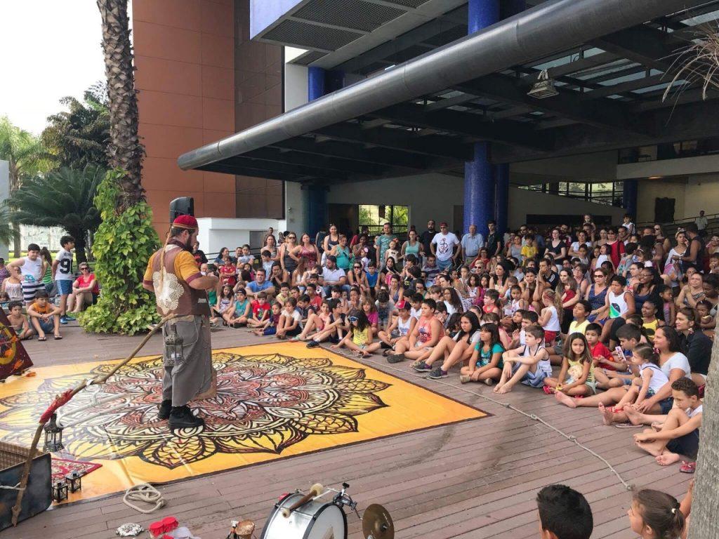 SESC São Caetano tem espetáculo de circo gratuito neste sábado