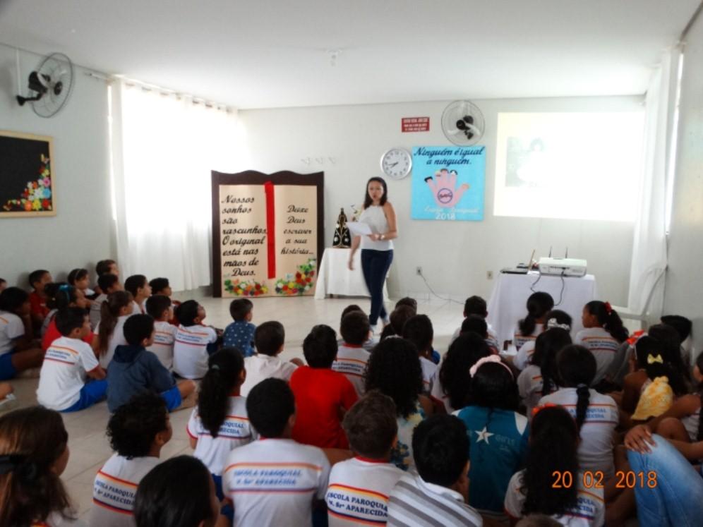 Escola de Colinas promove palestra sobre Bullying e suas consequências