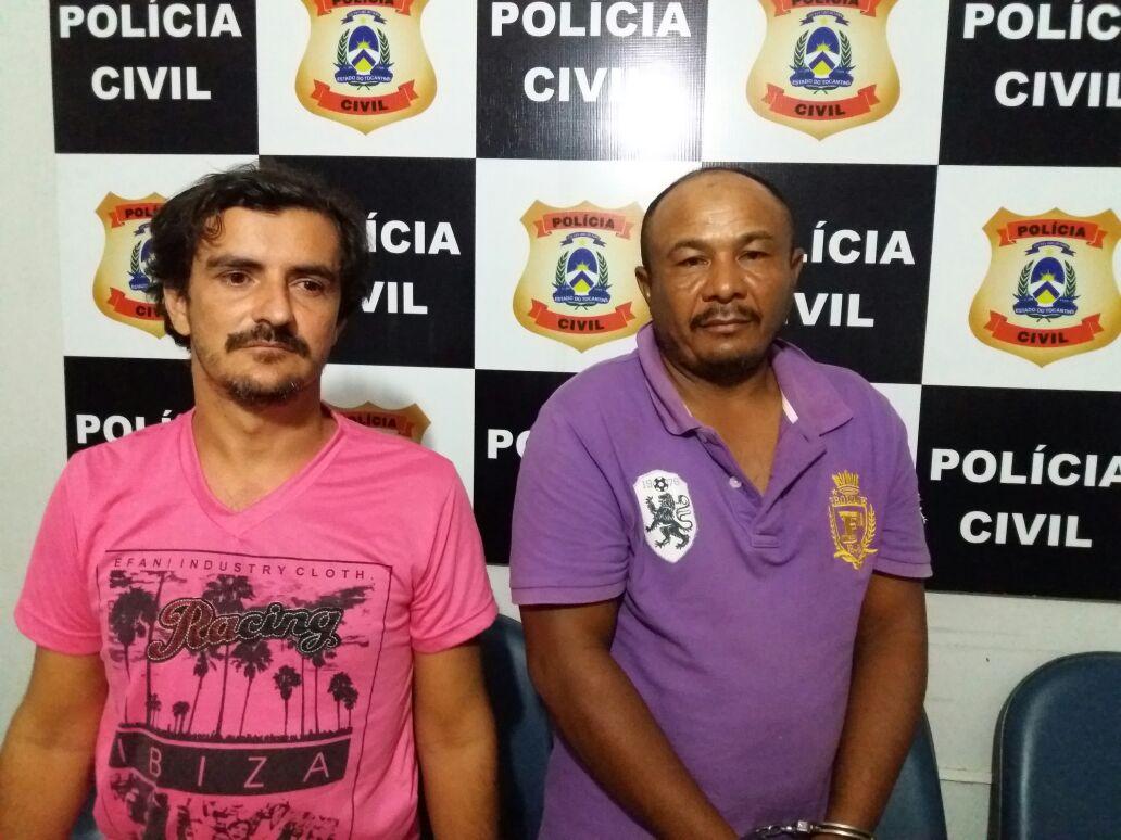 Polícia Civil prende, no Pará, suspeitos de homicídio no Extremo Norte do Tocantins