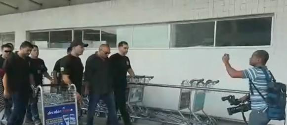 PF prende subsecretário de Administração Penitenciária do Rio no desembarque do Galeão