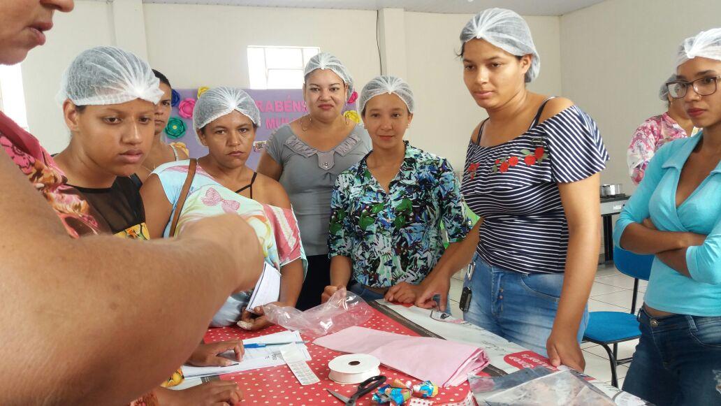 Prefeitura de Monte Santo promove curso de produção de ovos de páscoa