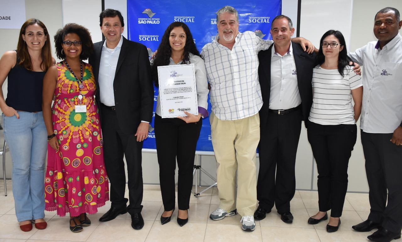 IOS é homenageado pela Secretaria do Desenvolvimento Social de São Paulo