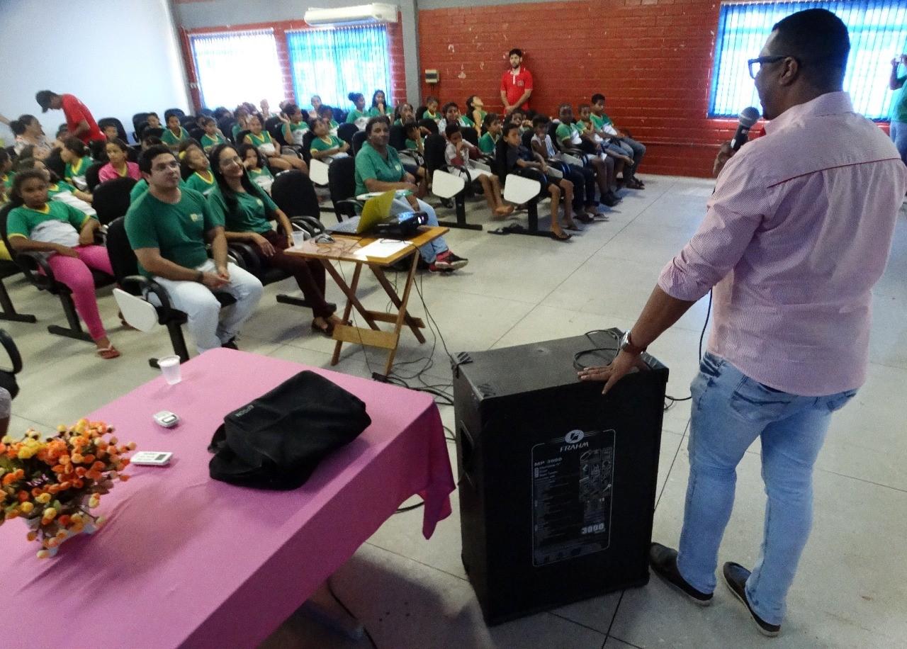 Prefeitura de Gurupi realiza programação da Semana da Água em escolas do município