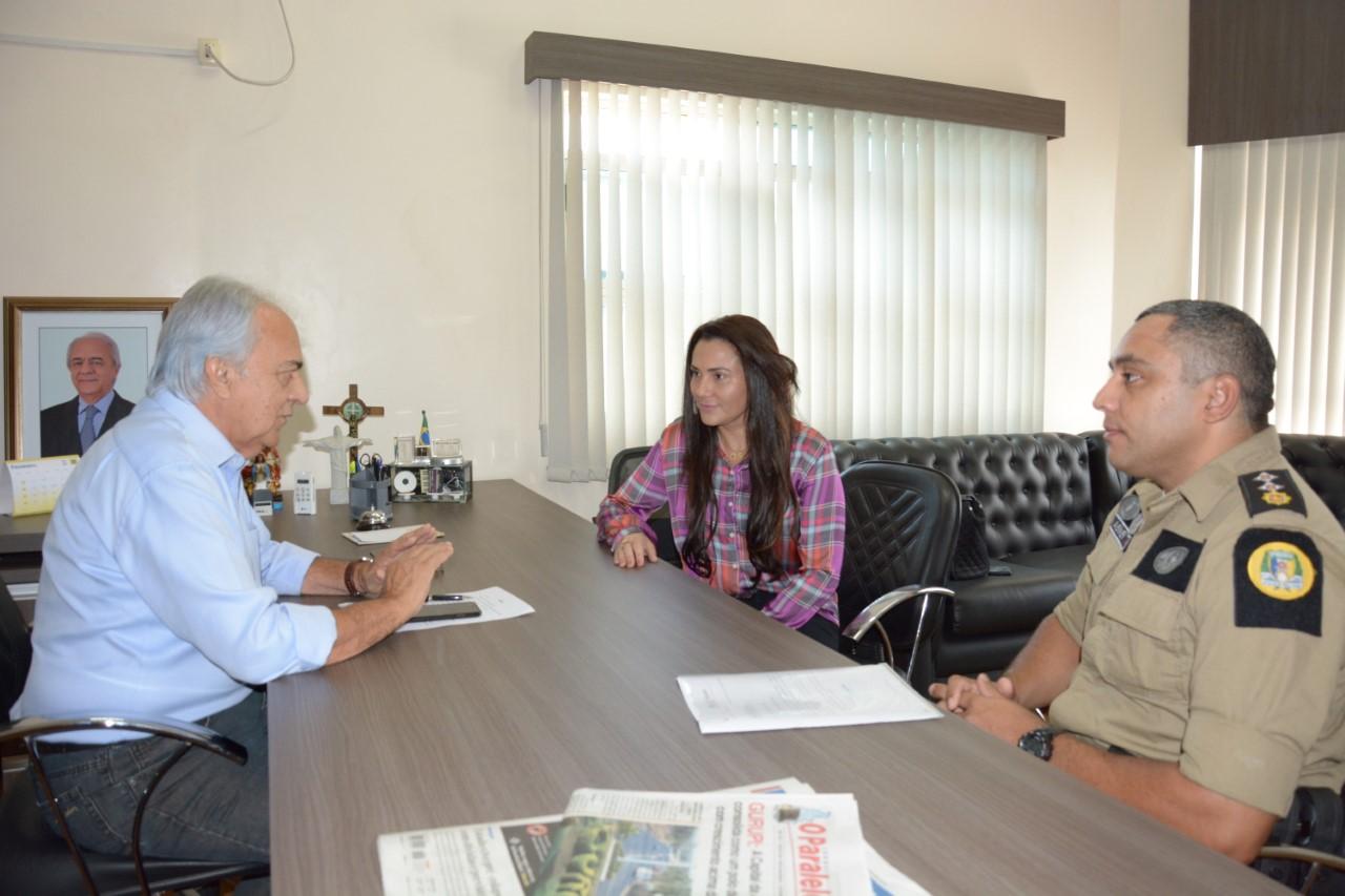 Anteprojeto sobre Monitoramento Eletrônico é apresentado ao Prefeito Moisés Avelino