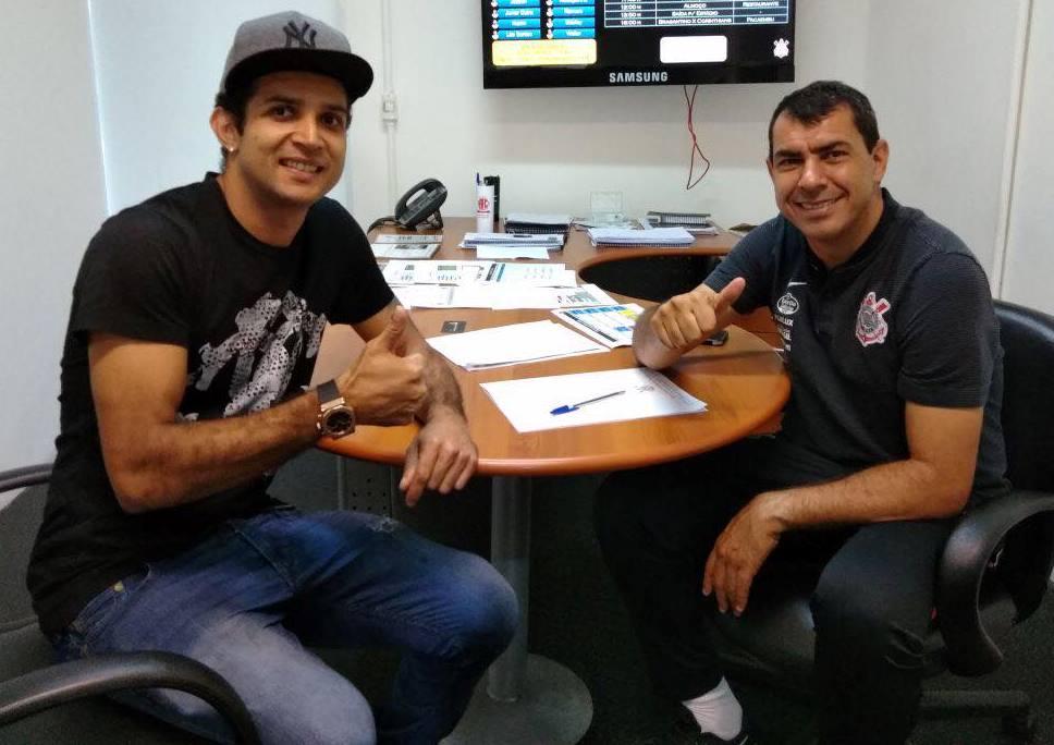 Convidado por Fábio Carille, Gilberto Macena fará sua recuperação no Corinthians Paulista