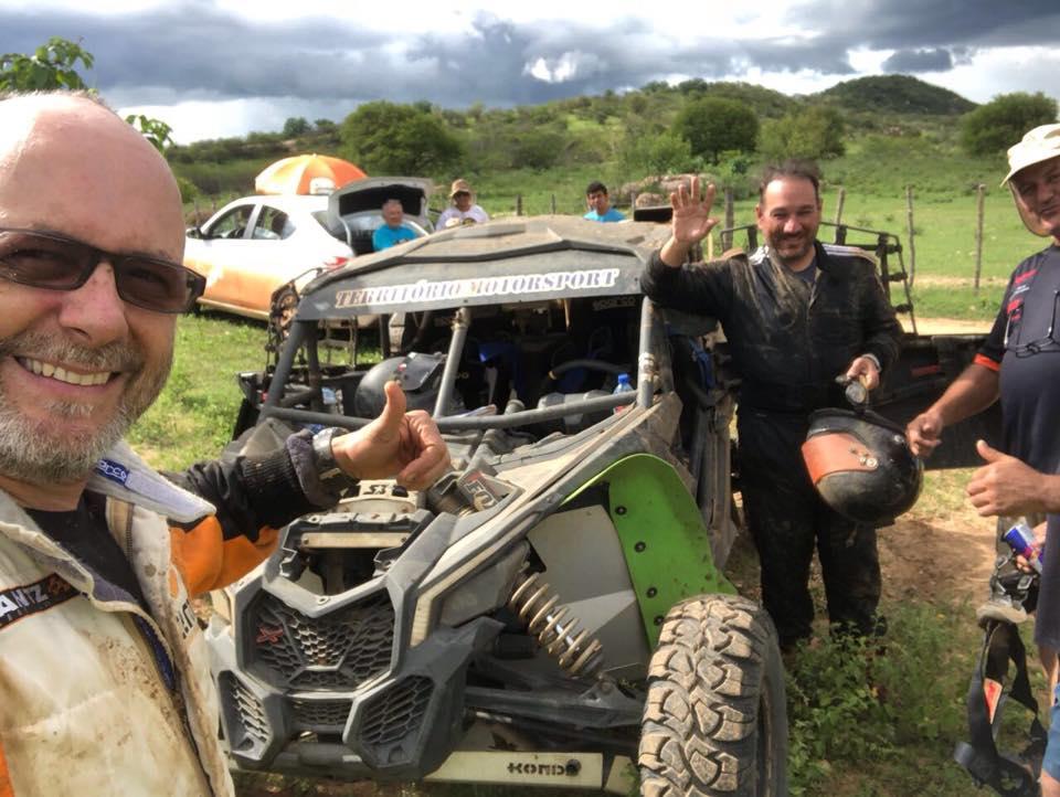 Rally RN 1500: Dupla Rodrigo Luppi/Fausto Dallape, chega a Currais Novos e sobe na classificação