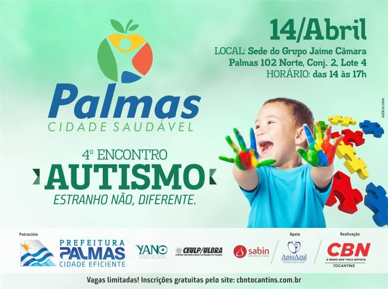 Autismo é tema do 4º encontro do Palmas Cidade Saudável