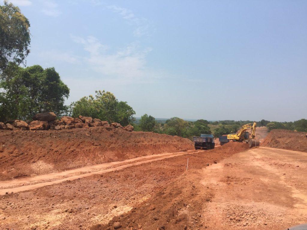Moradores de Chapada de Areia cobram continuidade da pavimentação da TO-447