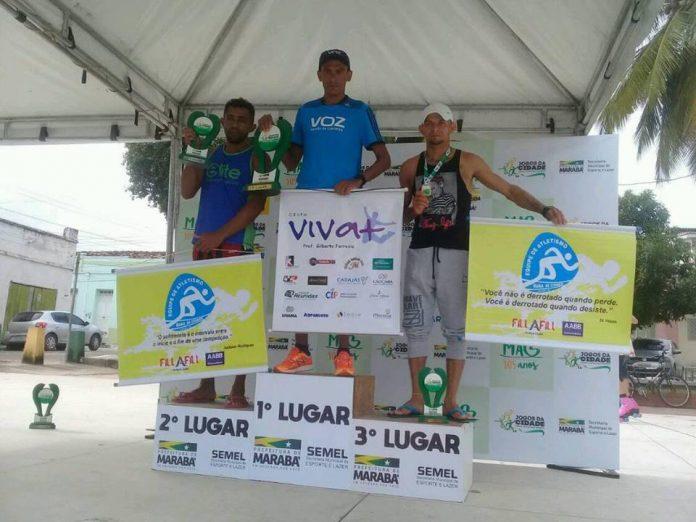 Atleta Vagno da Silva conquista a segunda colocação na 2ª corrida Viva Marabá