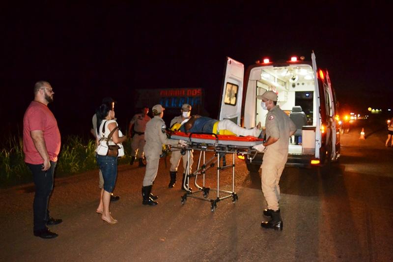 Acidente na TO-080 interdita rodovia por cerca de uma hora entre Paraíso e Luzimangues