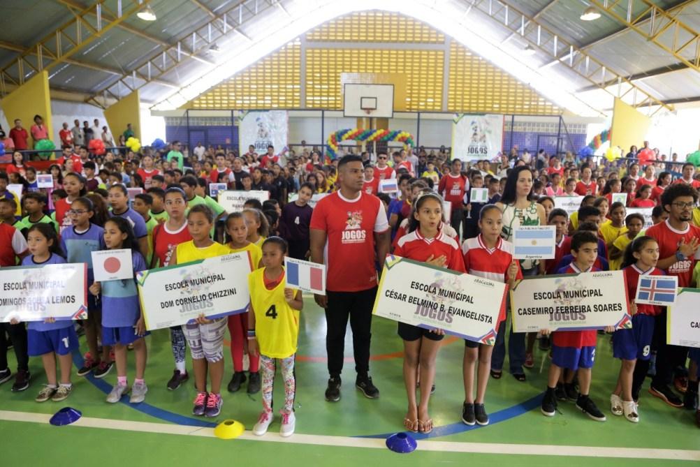 Finais da 1ª fase dos Jogos Municipais da Integração Escolar iniciam ... 184e157222021