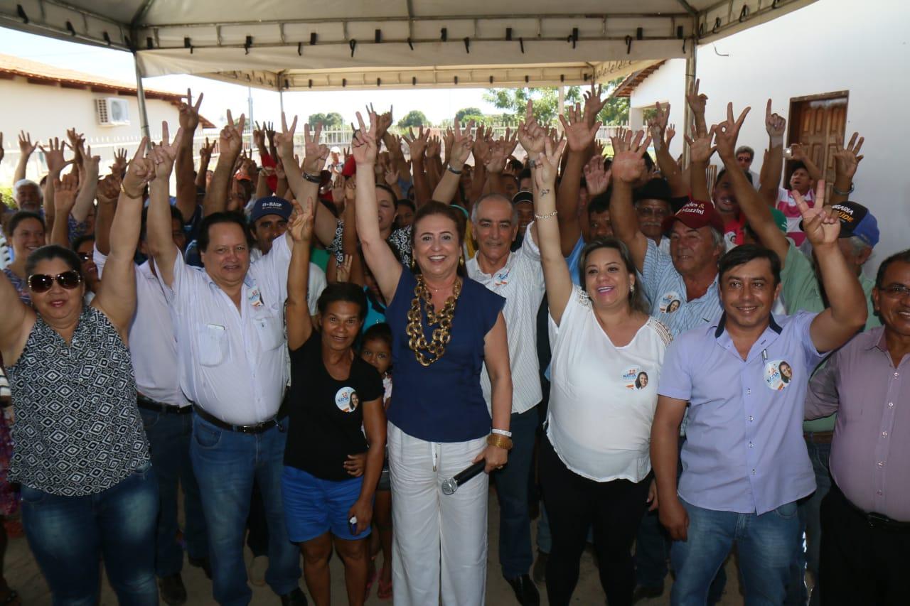 """Kátia Abreu: """"quero distância do modelo arcaico de política, minha prioridade são as famílias"""""""