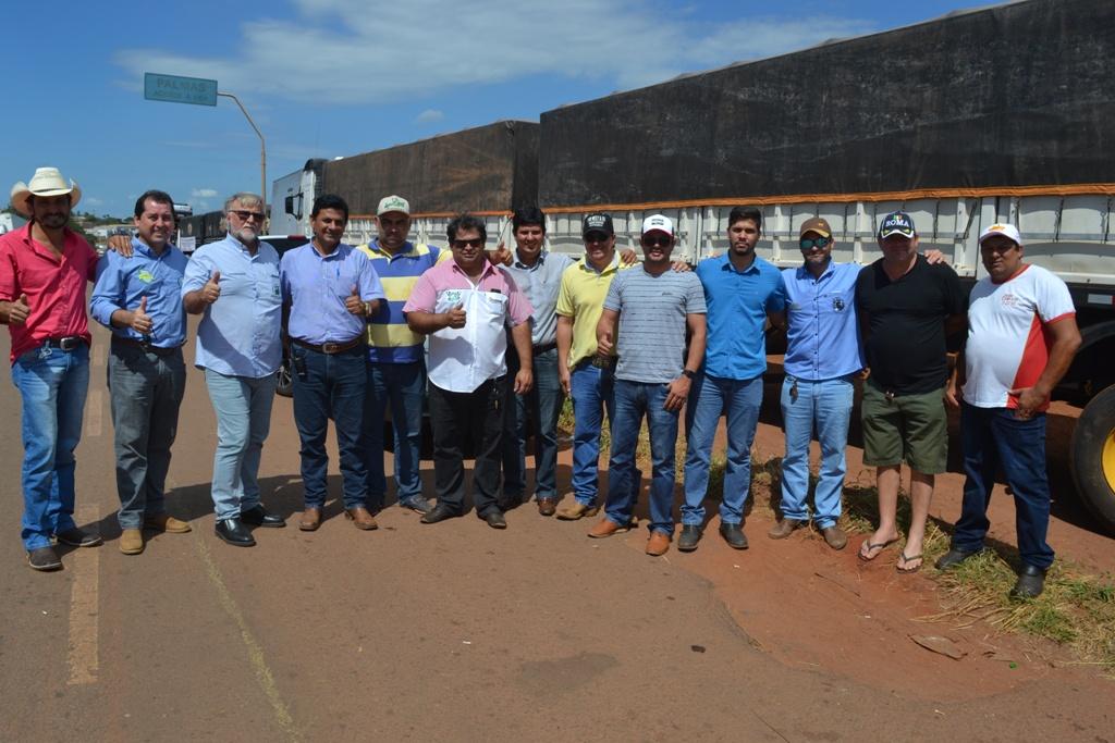 Diretoria do Sindicato Rural de Paraíso hipoteca apoio aos protestos dos caminhoneiros