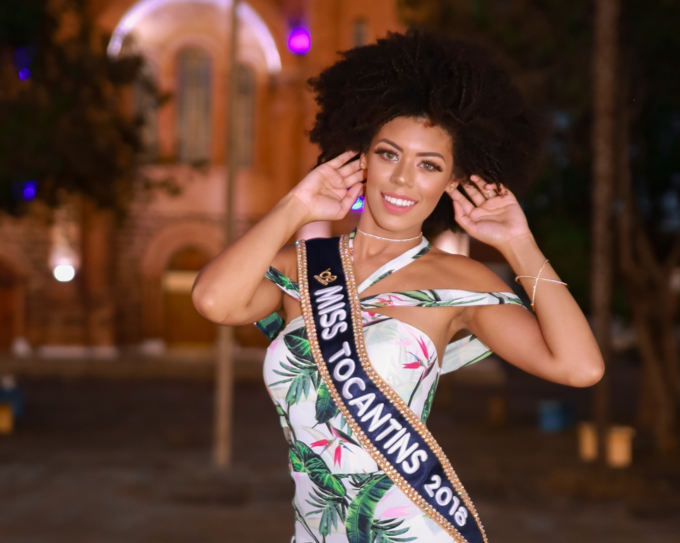 De Porto Nacional, Miss Tocantins viaja para disputa do Miss Brasil
