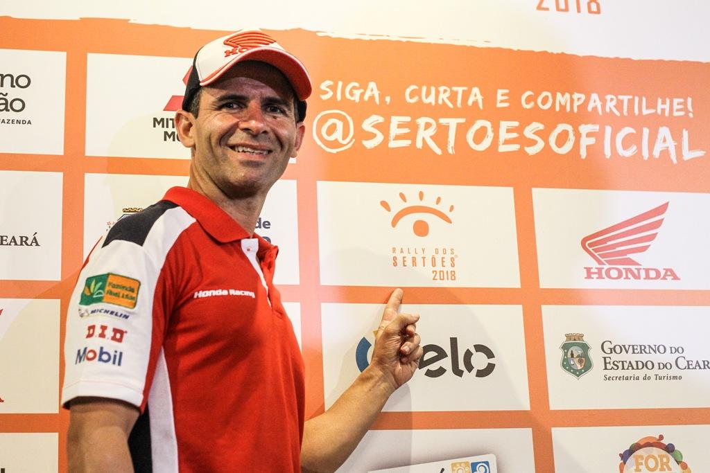 Pilotos Honda Racing aprovam o roteiro do 27º Rally dos Sertões