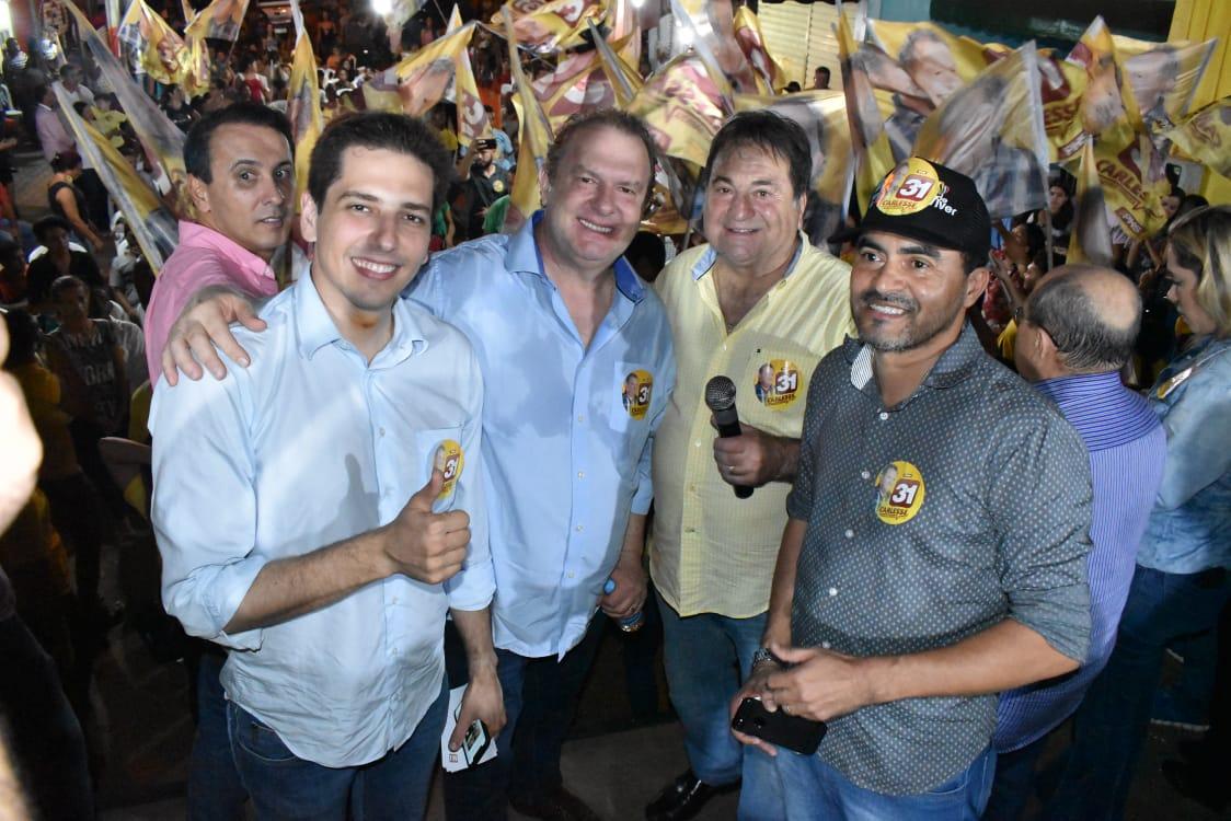 Líderes do Bico declaram que Carlesse é a esperança para a estabilidade do Tocantins