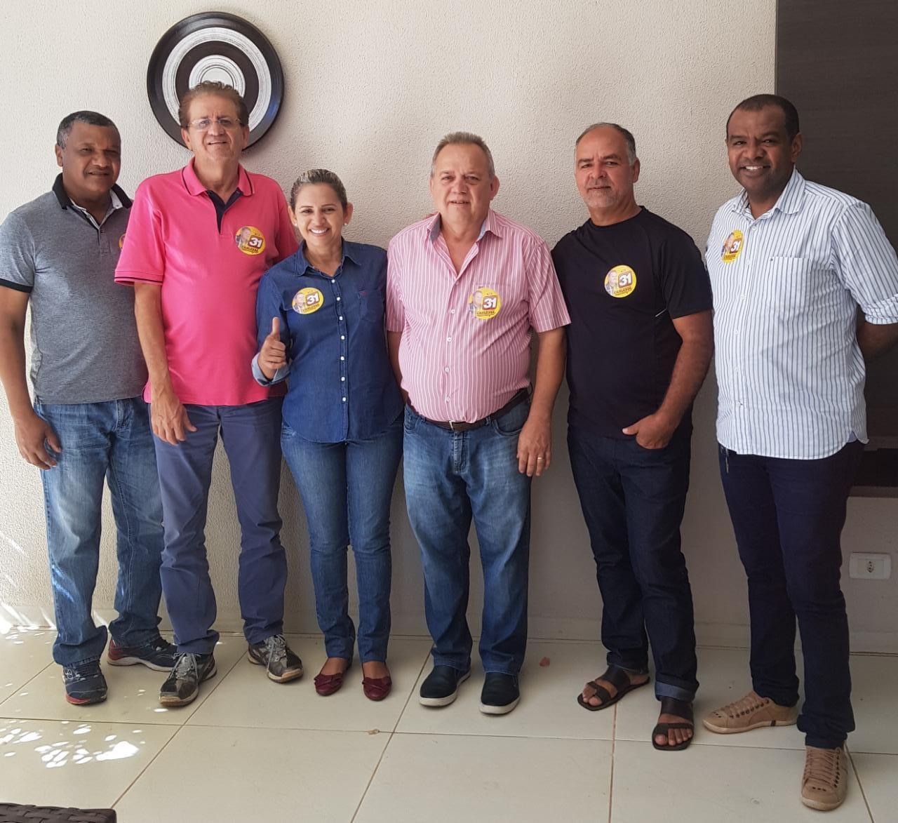 """Ex-prefeita e maioria dos vereadores de Xambioá aderem à campanha de Carlesse: """"É o melhor para o Tocantins"""""""