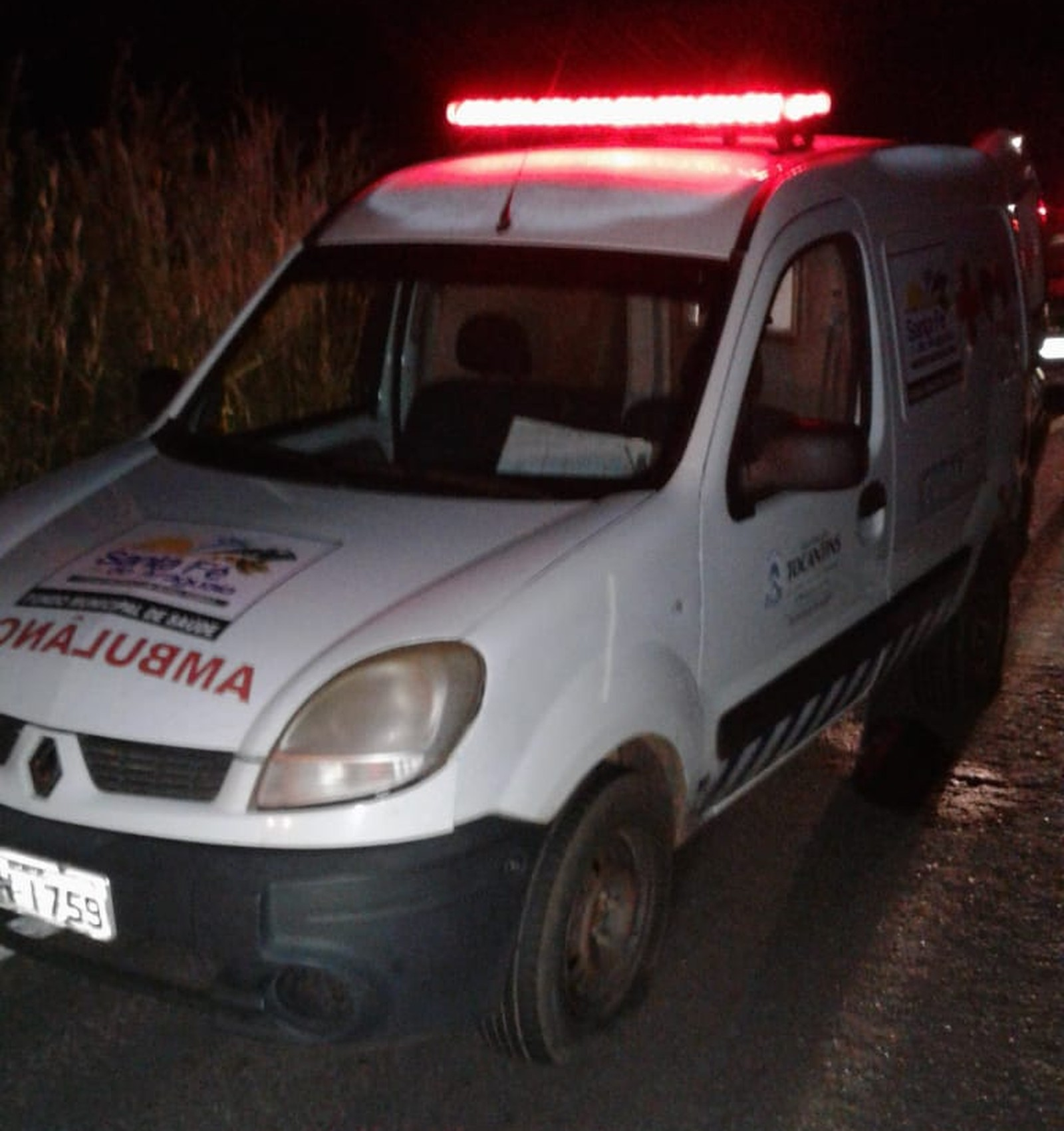 Ambulância é interceptada e paciente de 19 anos é executado na TO-222