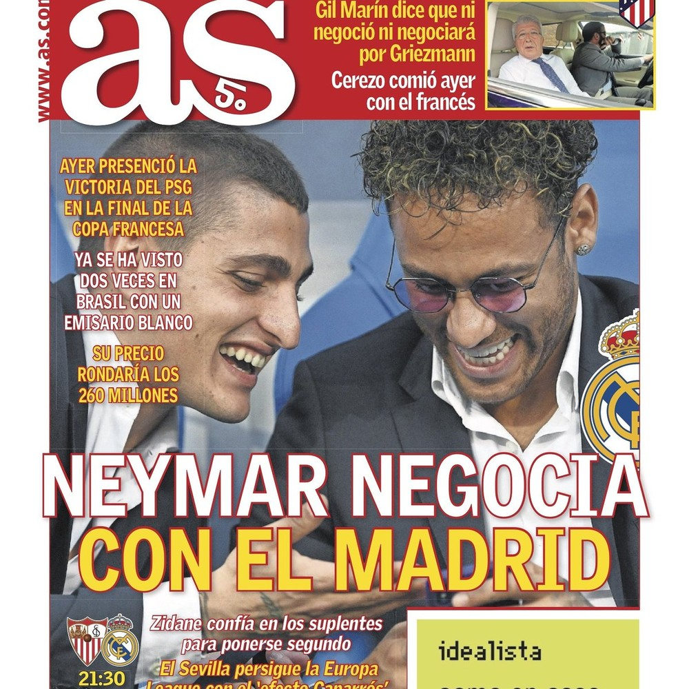 Neymar vai ser muito importante no Real Madrid na próxima época