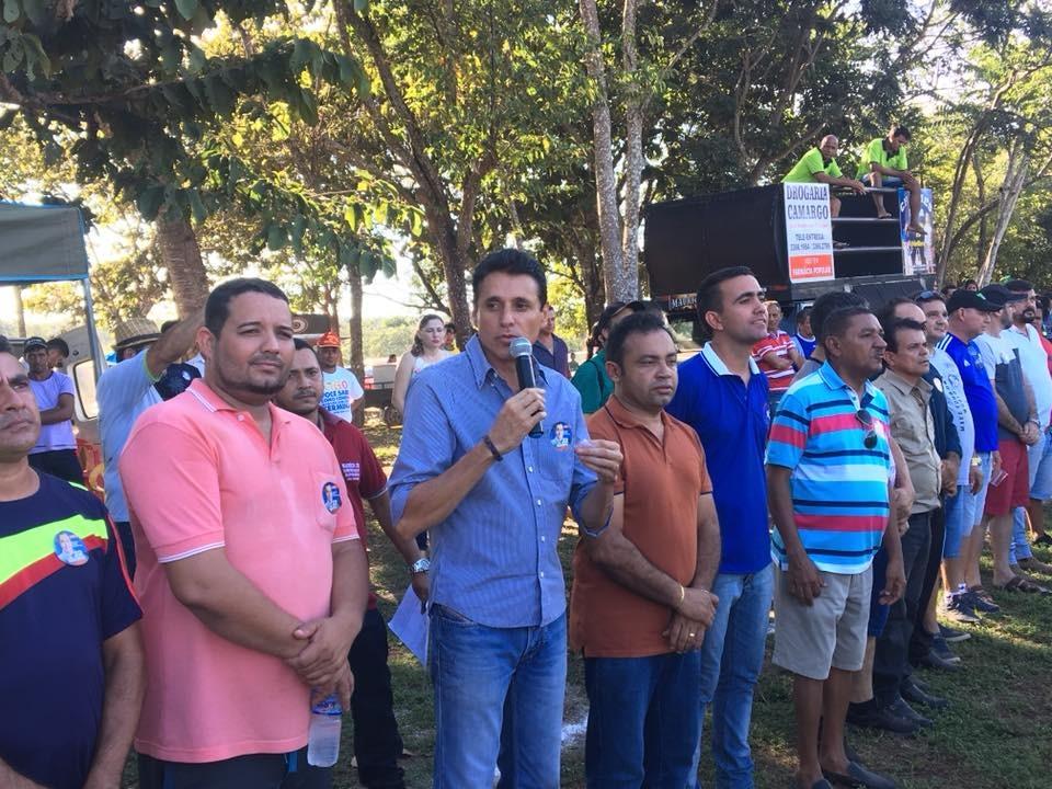 Nilton Franco prestigia final do Campeonato Rural de Futebol de Miracema (TO)