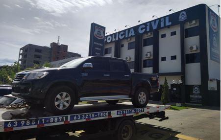 Polícia Civil localiza e recupera dois veículos furtados em Palmas