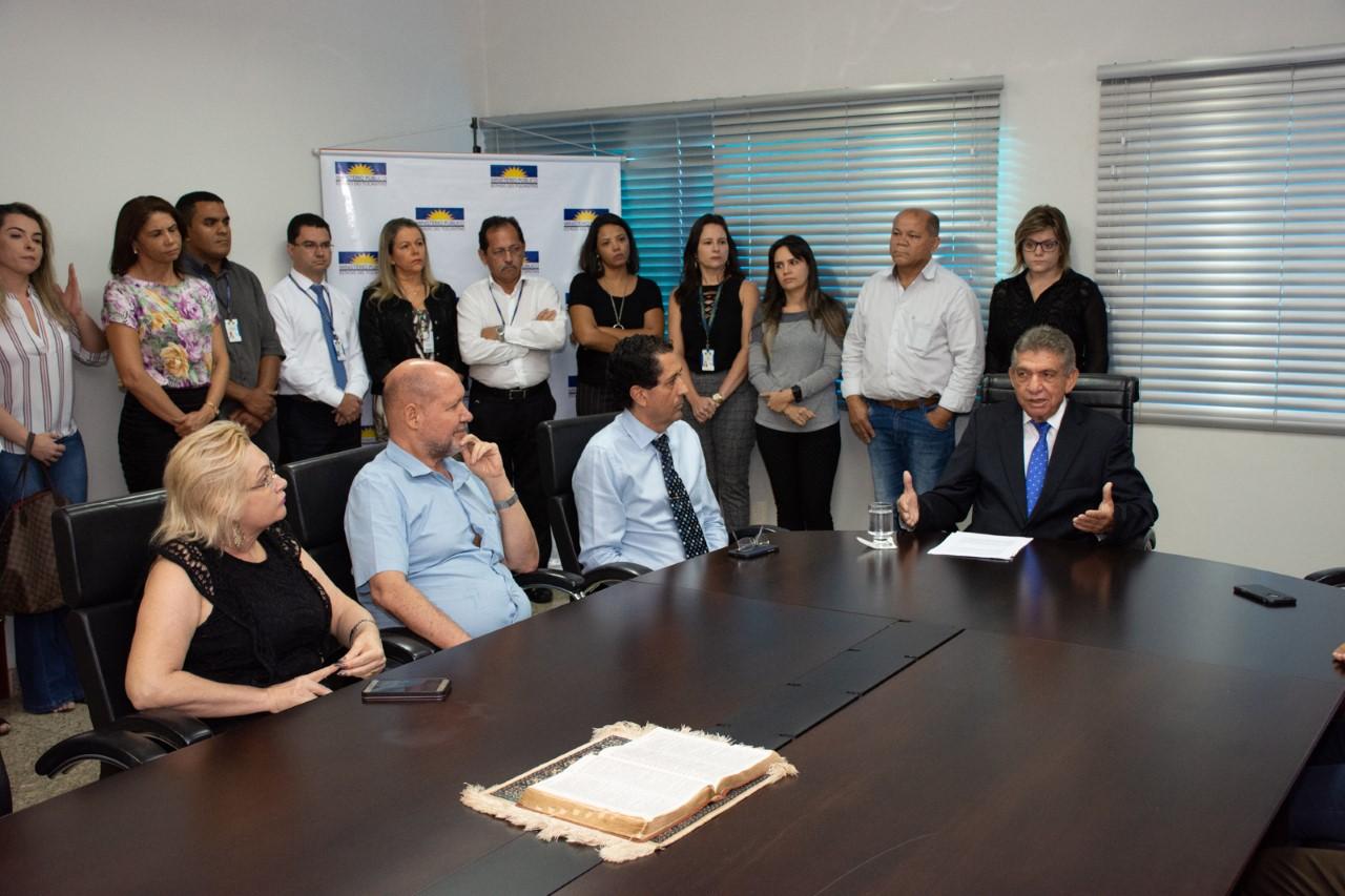 Clenan Renaut se aposenta e José Omar assume cargo de Procurador-Geral de Justiça