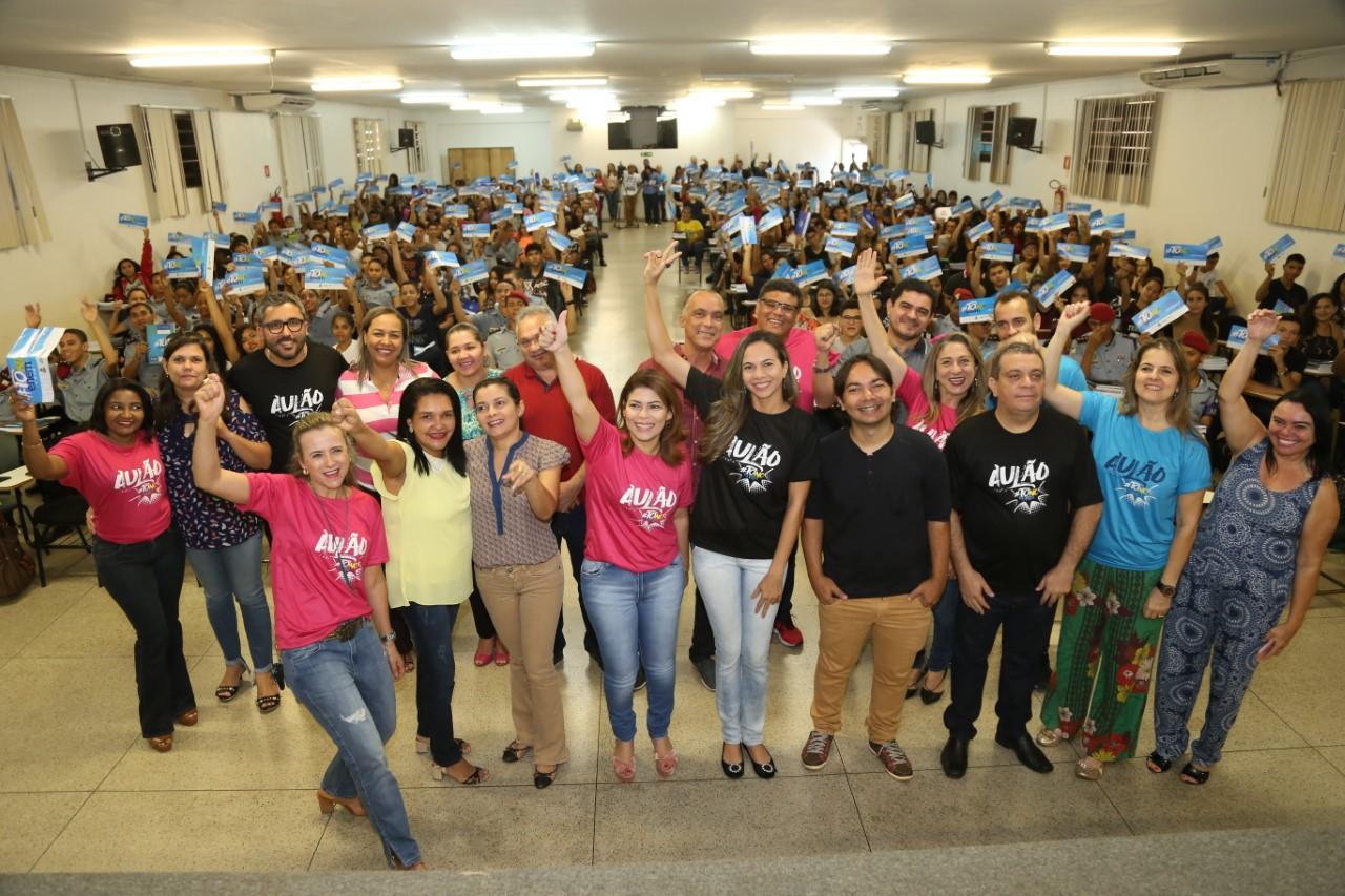 Estudantes de Araguaína participam de aulões preparatórios para o Enem