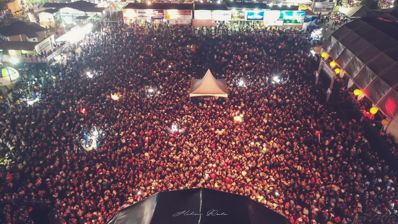 Último fim de semana consolida sucesso da XXIII ExpoBrasil em Paraíso do Tocantins