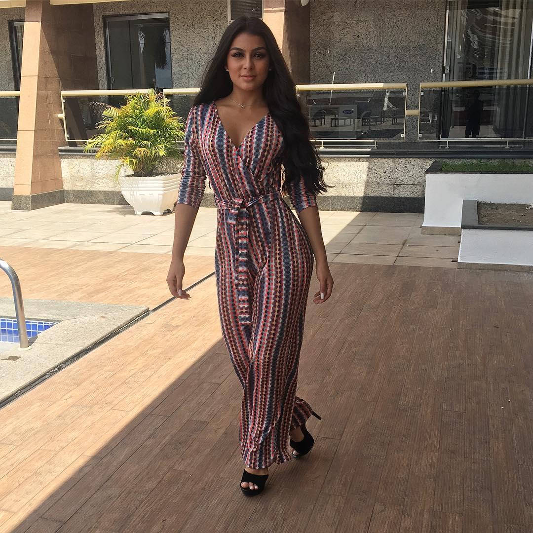 Modelo Juliana Malveira estréia na TV como apresentadora e quer se dedicar ao novo desafio