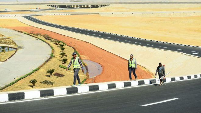 Como será a grandiosa e polêmica capital que o Egito está construindo no meio do deserto
