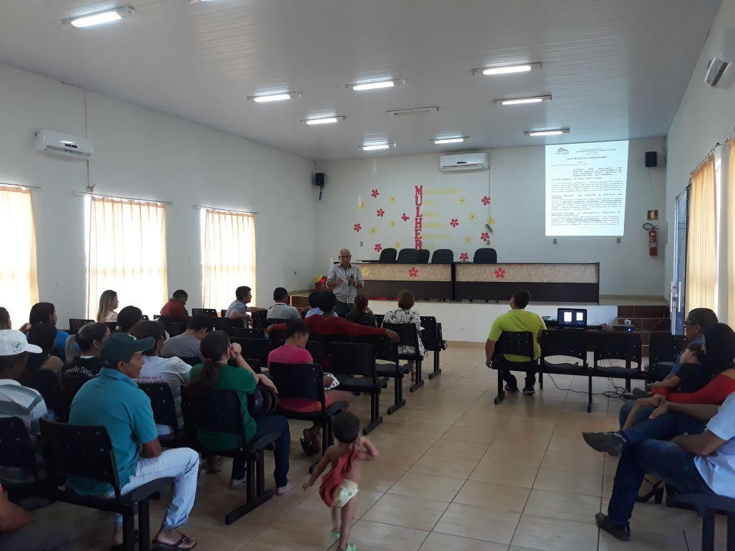 Audiência Pública discute plano de abastecimento de água em Chapada de Areia (TO)