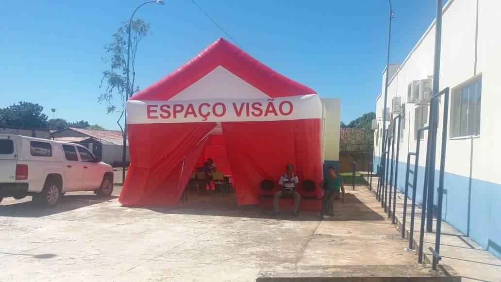 Prefeitura de Araguacema (TO) e Asfenorte promovem atendimentos oftalmológicos gratuitos para a comunidade