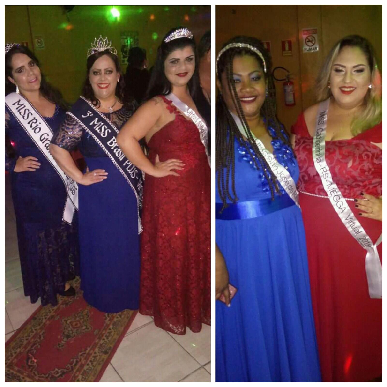 Primeiro Baile de Misses Plus Size aconteceu em Canoas (RS), ganhando destaque no segmento