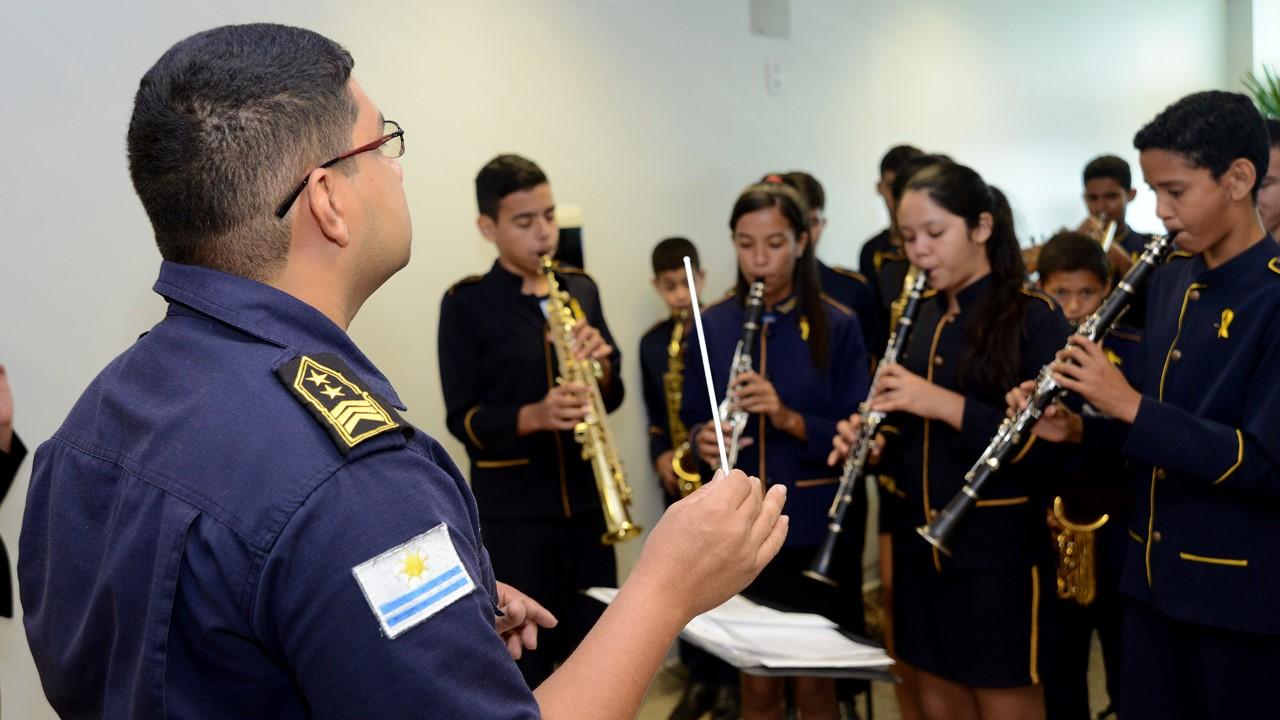 GMP abre edital na próxima segunda, 18, para a seleção de novos alunos da Orquestra Jovem de Palmas