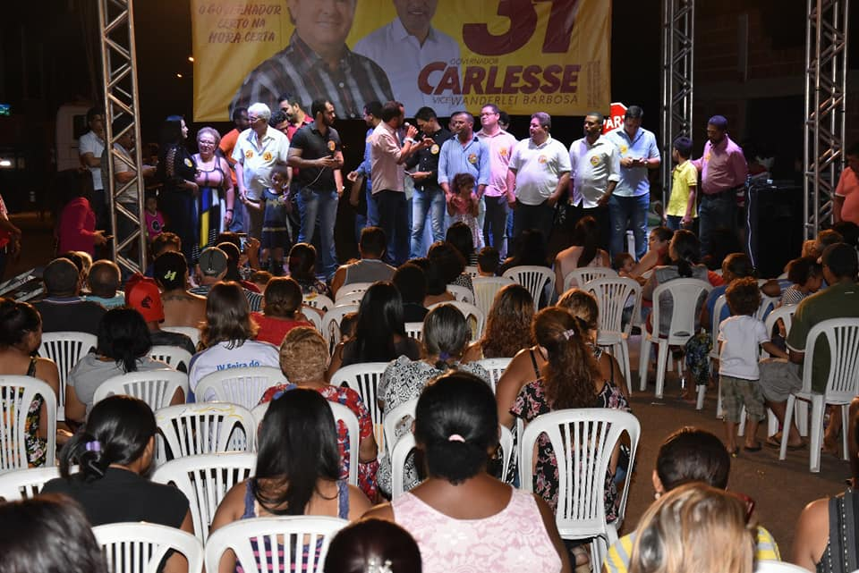 Em Palmas, Wanderlei atesta competência de Carlesse e pede voto de confiança no segundo turno