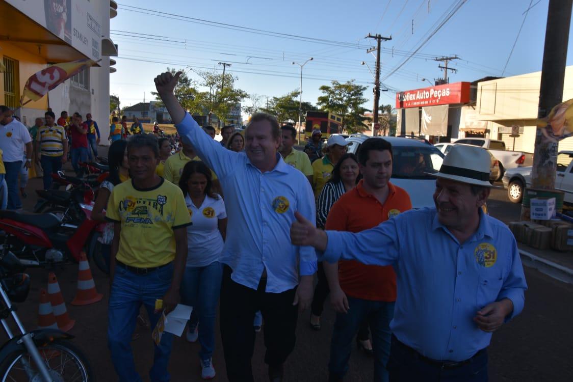 Carlesse destaca Araguaína como exemplo para o Estado