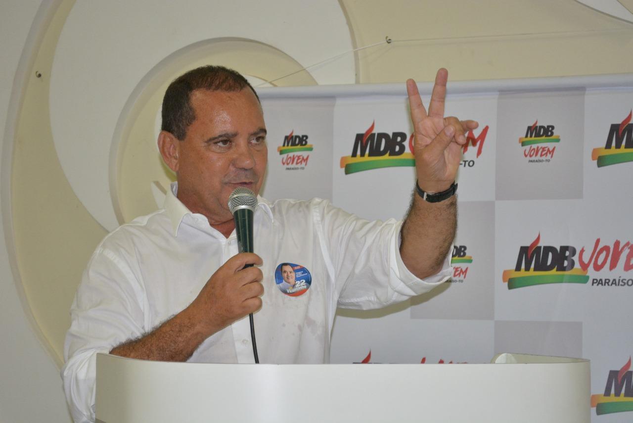 Vicentinho garantirá a caminhoneiros redução do ICMS do diesel