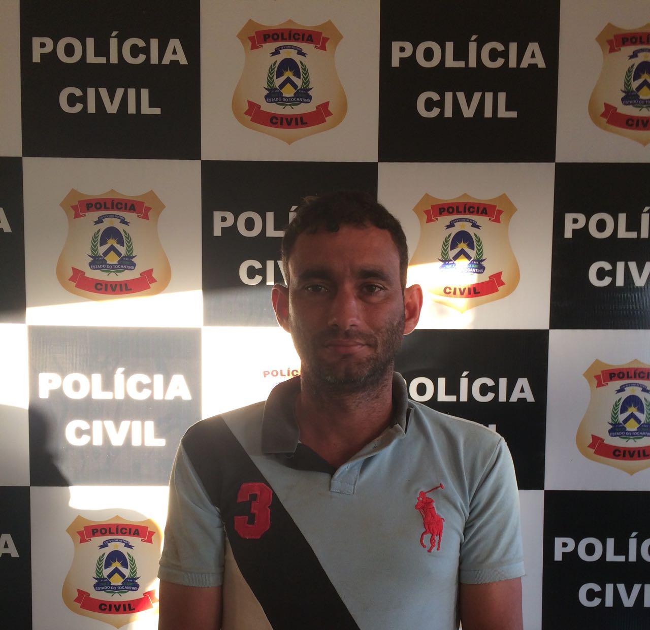 Polícia Civil prende em flagrante autor de tentativa de homicídio qualificado (Feminicídio) contra companheira e enteada na cidade de Araguacema-TO