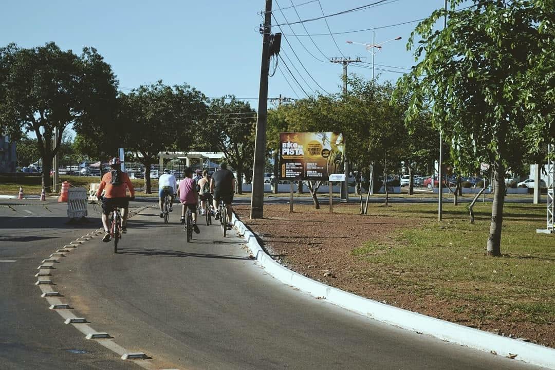 Bike na pista é opção de férias na Capital Palmas