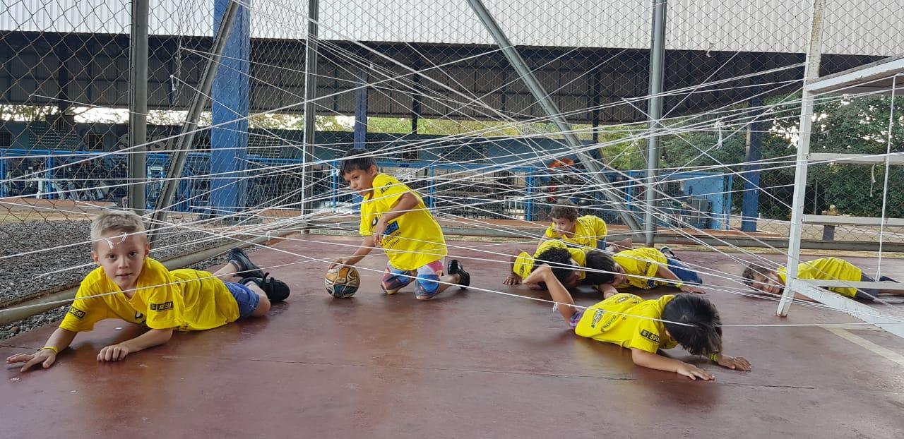 Colônia de Férias do SESI recebe mais de 230 crianças participantes na edição 2018 em Araguaína