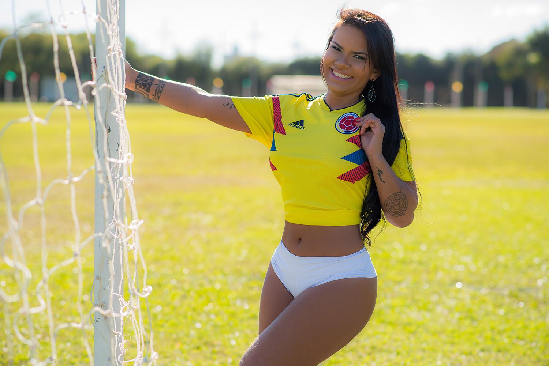 Musa da Colômbia comenta a eliminação para a Inglaterra e a provocação da torcida inglesa