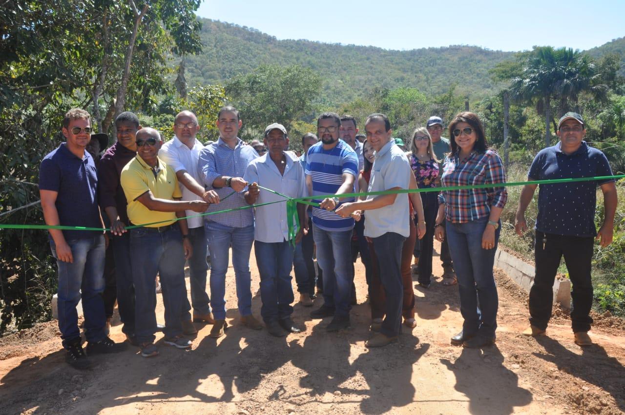 Prefeito Joaquim Maia inaugura duas pontes na zona rural de Porto Nacional