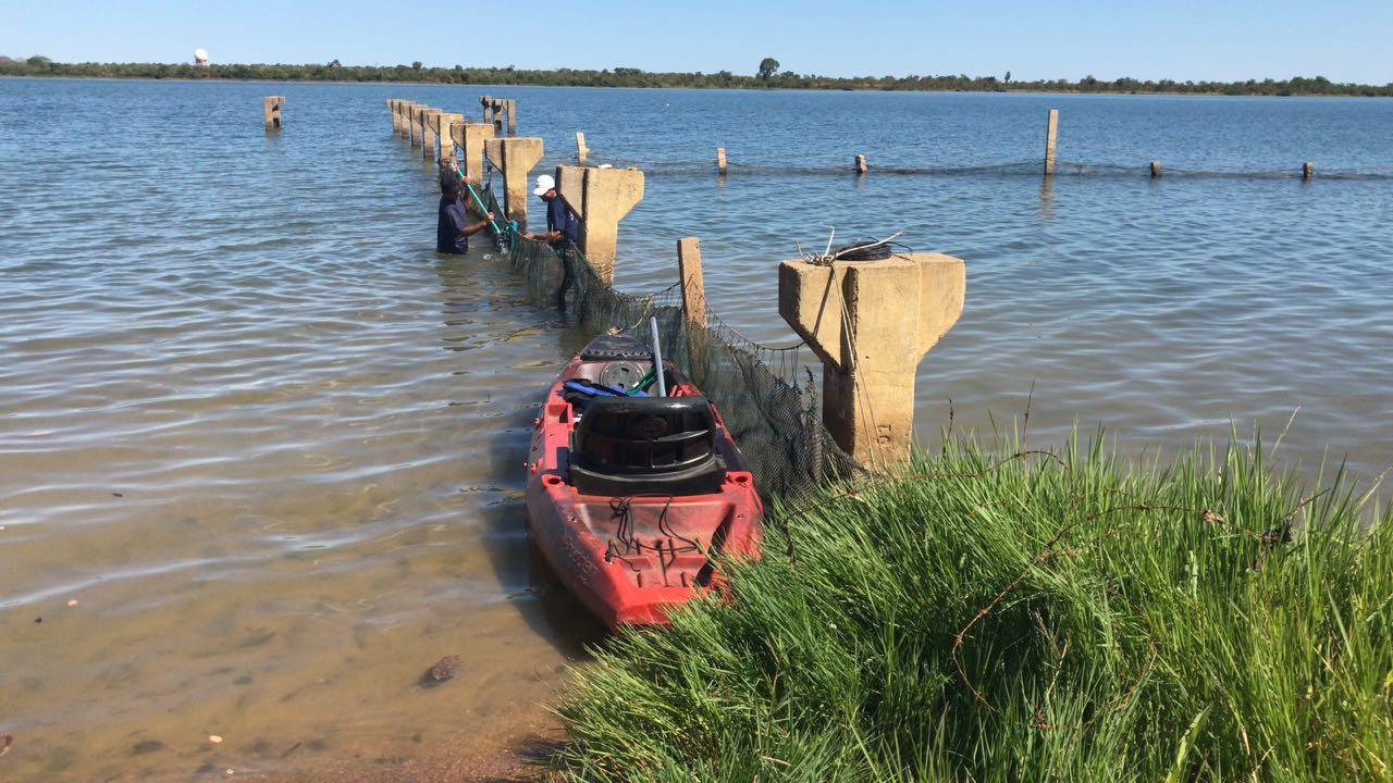 Redes de proteção nas praias da Capital garantem segurança a banhistas