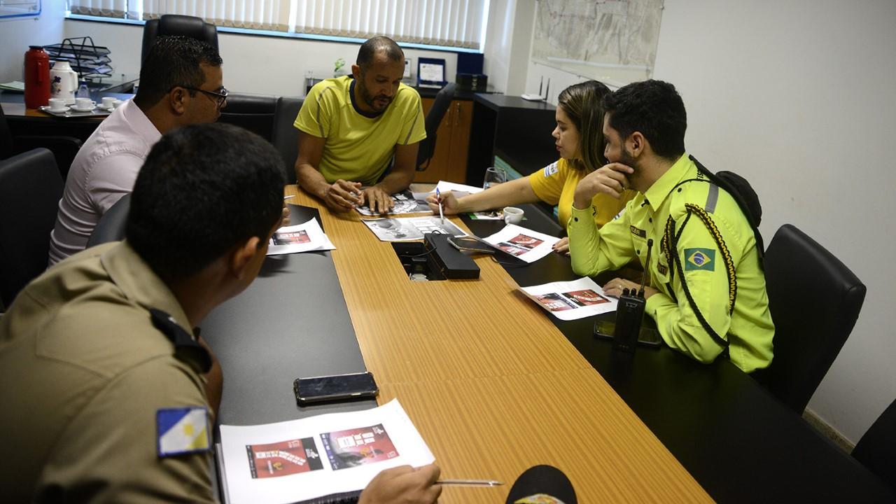 Reunião define interdição das vias e segurança dos atletas na 8ª Corrida da Advocacia