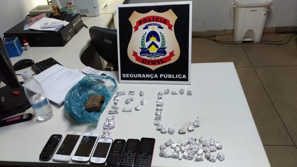"""Polícia Civil deflagra operação """"Reincidência"""" e prende suspeitos por tráfico de drogas no interior do Estado"""