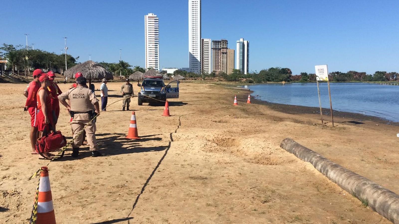 Corpo é encontrado boiando na praia da Graciosa em Palmas
